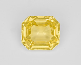Yellow Sapphire, 5.45ct - Mined in Sri Lanka   Certified by GII