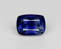 Blue Sapphire, 4.65ct - Mined in Sri Lanka | Certified by GRS