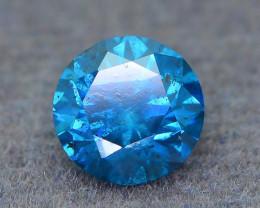 AAA Grade 0.92 ct Blue Diamond SKU-19