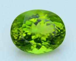 Peridot Exquisite Color 6.66  ct Burma Sku-4