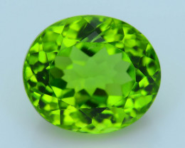 Exquisit Color 5.79 ct Burma Peridot Sku-4