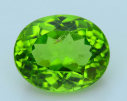 Exquisit Color 5.81 ct Burma Peridot Sku-4