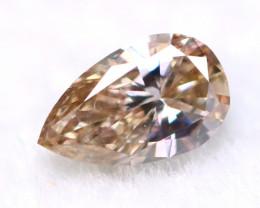 Brownish Pink Diamond 3.89mm Natural Untreated Fancy Color Diamond B2304