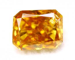 Intense Orange Diamond 5.30mm Natural Fancy Color Diamond B2311