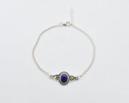 BLUE SAPPHIRE BRACELET NATURAL GEM 925 STERLING SILVER JB130