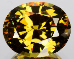 1.90 Cts AWESOME NATURAL color change DEMANTOID GARNET RUSSIA (Video Avl)