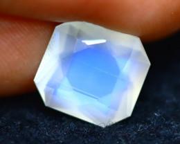 Moonstone 3.17Ct Top AAA Sri Lanka Rainbow Blue Moonstone DN33