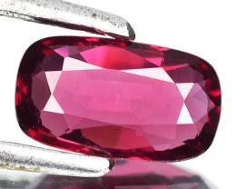 1.08 Cts Natural Unheated Reddish Pink Spinel Cushion Cut Brumese Gem (Vide