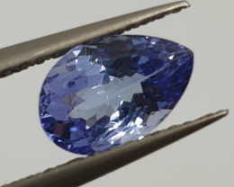 1.27 ct Tanzanite Pear 8.2x5.45mm(SKU 137)