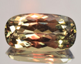 ~AWESOME~ 9.75 Cts Rarest Natural Color Change Diaspore Long Oval Cut Turke