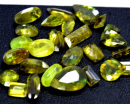 NR  21.80 Cts Lot of  Sphene Gemstone From Pakistan