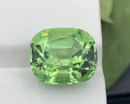 Afghanistan Apple Green 9.70 Carats  Natural Tourmaline Amazing Quality