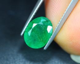 2.34Ct Natural Zambia Green Emerald Lot V5602