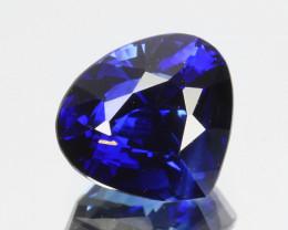 1.06 Cts Natural Royal Blue Sapphire Heart Shape Sri Lanka Gem