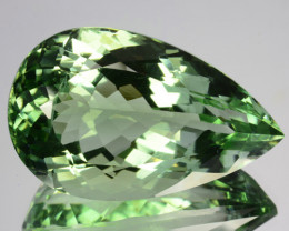 32.50 Cts EXQUISITE NATURAL RARE GREEN AMETHYST GEM