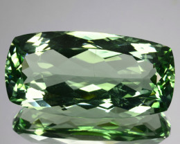 30.60 Cts EXQUISITE NATURAL RARE GREEN AMETHYST GEM