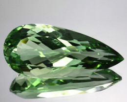 31.65 Cts EXQUISITE NATURAL RARE GREEN AMETHYST GEM