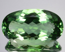 34.55 Cts EXQUISITE NATURAL RARE GREEN AMETHYST GEM