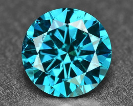 0.50 Cts Sparkling Rare Fancy Intense Blue Color Natural Loose Diamond