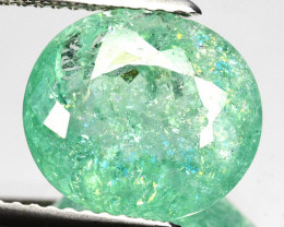 4.64 Cts Natural Copper Bearing Paraiba Tourmaline Green Mozambique