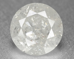 1.53 Cts Untreated Ice White Color Natural Loose Diamond