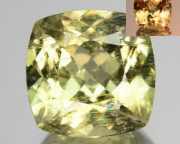 3.95 Cts Natural Rarest Color Change Diaspore Cushion Cut Turkey