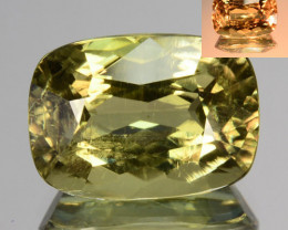 5.90 Cts Natural Rarest Color Change Diaspore Cushion Cut Turkey