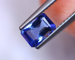 1.21cts Violet Blue D Block Tanzanite / RD280