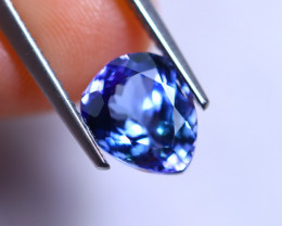 2.25cts Violet Blue D Block Tanzanite / RD283