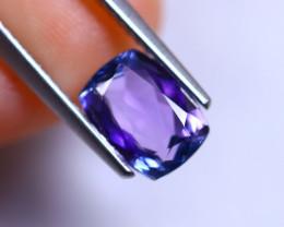 1.68cts Violet Blue D Block Tanzanite / RD287