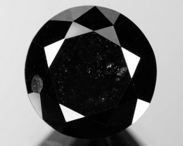 2.35 Cts Amazing Rare Fancy Black Color Natural Loose Diamonds