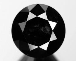 2.35 Cts Amazing Rare Fancy Black Color Natural Loose Diamonds