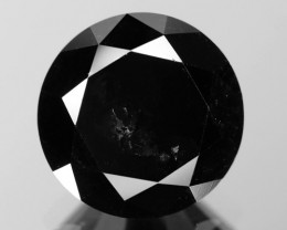 2.45 Cts Amazing Rare Fancy Black Color Natural Loose Diamonds