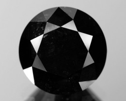 2.62 Cts Amazing Rare Fancy Black Color Natural Loose Diamonds