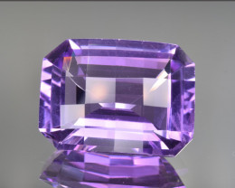 Natural Amethyst 14.05 Cts Fancy Cut, Top Quality Gemstone
