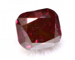 Red Diamond 2.54mm Natural Fancy Purplish Red Diamond B2509