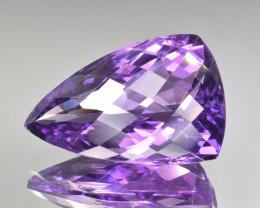 Natural Amethyst 17.69 Cts Fancy Cut, Top Quality Gemstone