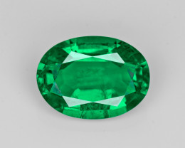 Emerald, 2.57ct - Mined in Zambia | Certified by GIA