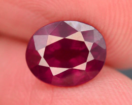3.00 CT RHODOLITE GARNET FROM MALAY AFRICA T