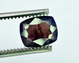 2.60 ~ Carats Cushion Cut PMS 2623 Purple Color Natural Corrundum Sapphire