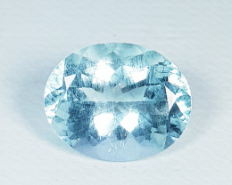 6.51 ct Excellent Gem Excellent Oval Cut Natural Aquamarine