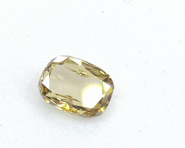 0.40ct  Fancy  Brown Green Diamond , 100% Natural Untreated
