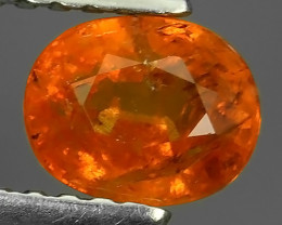1.00 Cts Unheated Natural Orange Spessartite Garnet Namibia Gem