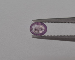 Natural Pink Sapphire 0.24 Cts from Afghanistan