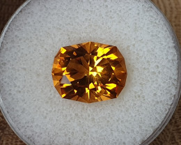 7,10ct Golden Citrine - Master cut!