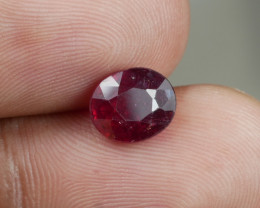 2.15 CT NO RESERVE RED RUBY
