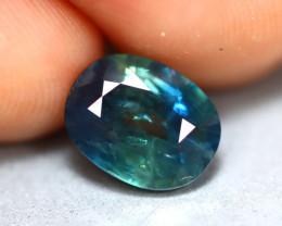 Blue Sapphire 2.50Ct Natural Greenish Blue Sapphire D2614