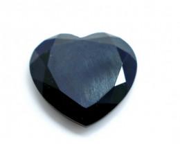 13.70 CT Unheated ~ Natural Black Spinel Gemstone