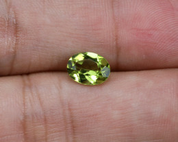 1.4ct. Lab Certified Natural Peridot