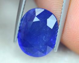 6.31ct Blue Sapphire Oval Cut Lot GW5076